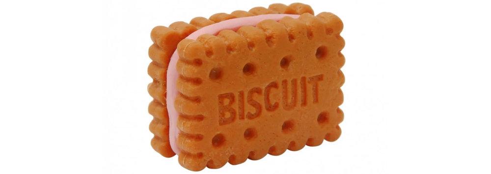 Paperchase biscuit eraser