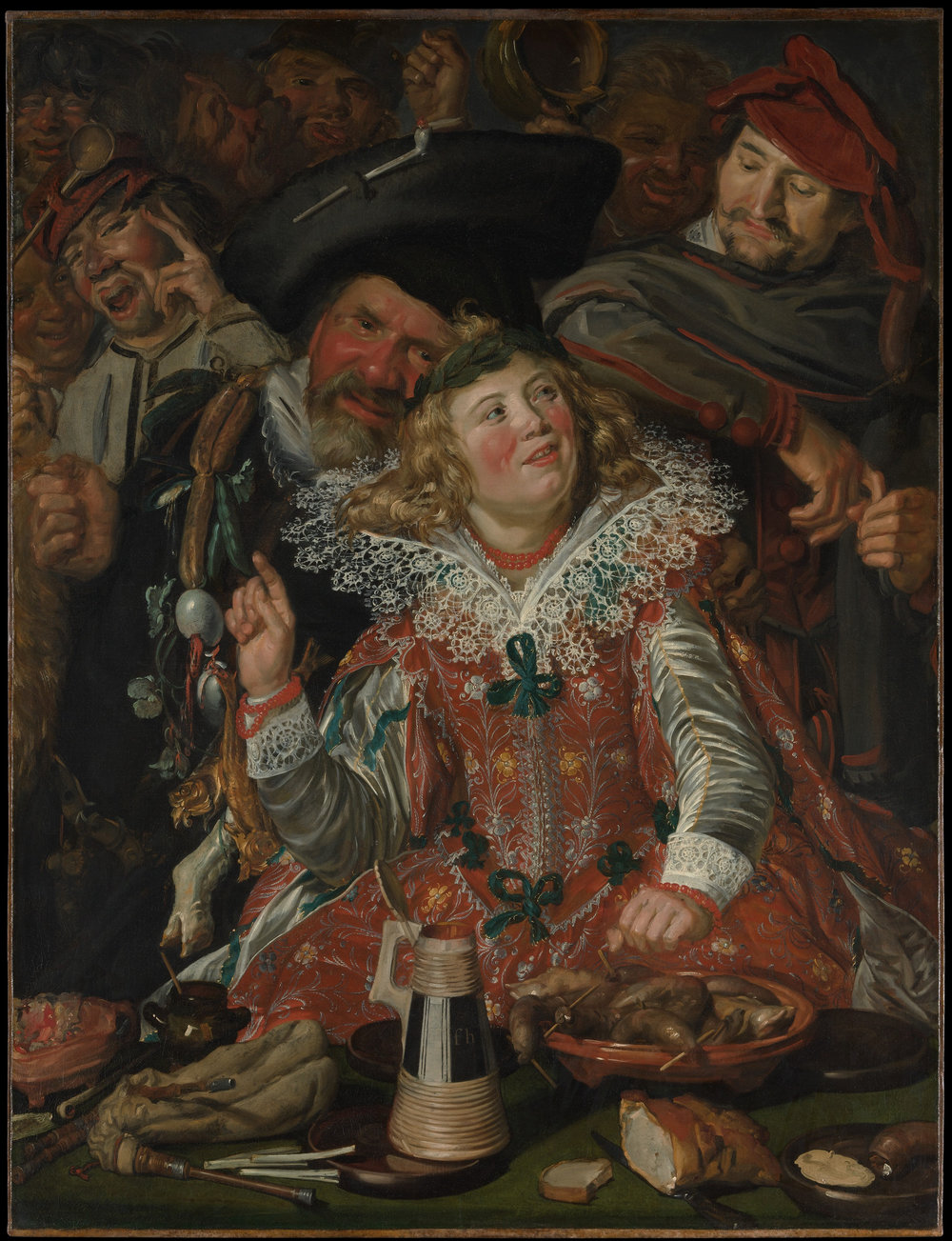 Frans Hals. Merrymakers at Shrovetide. ca. 1616–17. Courtesy of the Metropolitan Museum