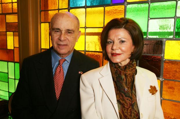 Nicholas and Jenny Taubman