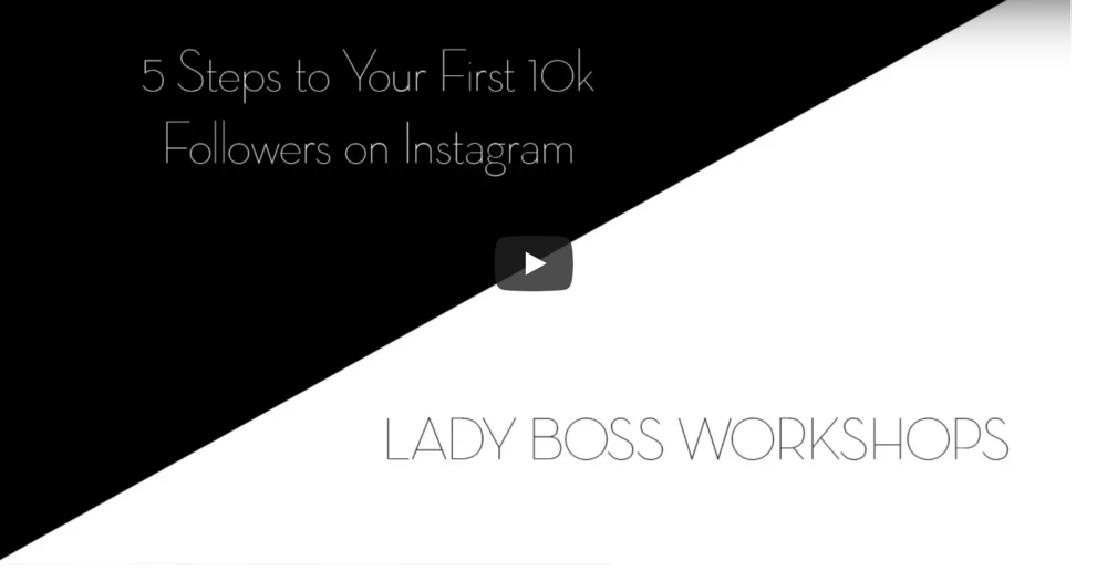 Five steps to your first 10K followers on Instagram.