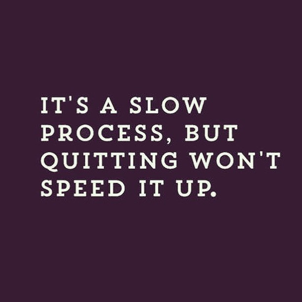 """""""Slow and steady wins the race."""" Sounds familiar, right? Well in this case, the race is your business... and it still holds absolutely true. . But you know what 100% won't win you the race? QUITTING. So stay strong lady bosses! You. Got. This. . . . . . . . . @np_adriana  #ladybossworkshops #likealadyboss #mompreneur #ladyboss #girlboss #wahm #momboss #photographybusiness #beyourboss #businesstips #onlinebusiness #businessworkshop #businessmom  #workathomemom #femaleentrepreneur #womensupportingwomen #mommylife #camera_mama #cameramama #goaldigger #bossbabes #sheconquers #femalefounders #womeninbiz #womenwhohustle #behindthelens #meetthephotographer"""