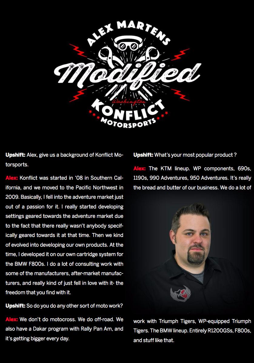 Portrait: Alex martens of Konflict Motorsports
