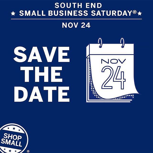 Our favorite event of the year is next Saturday! Join us and a ton of other small local businesses on Camden Road in Southend CLT 💕 we will have all of the fall / winter things! Xx #pearlandmint #smallbusinesssaturday #sbs #sbs2018