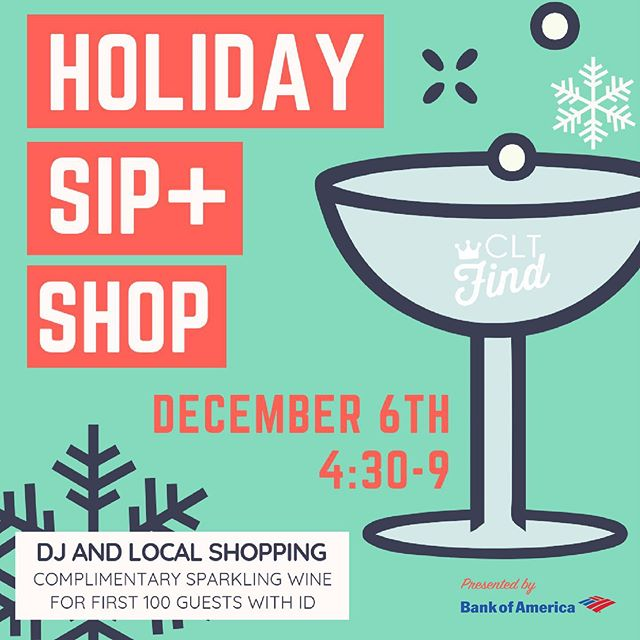 You sip 🍾 and then you shop 👗💋 We are so excited for this pop up! It's not our first time @7thpublicmarket but it's our first time as a part of this epic pop up and we can't wait to shop too! Come out Dec 6 and support local! (And of course get yummy food. Our current obsessions are @ricosacai bowls) 😍👌🏻