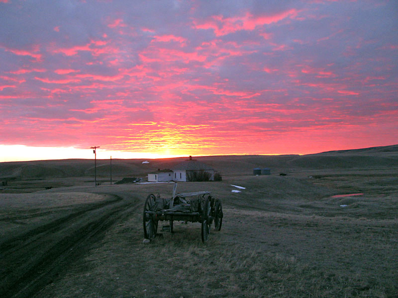 The Ranch at Sunset