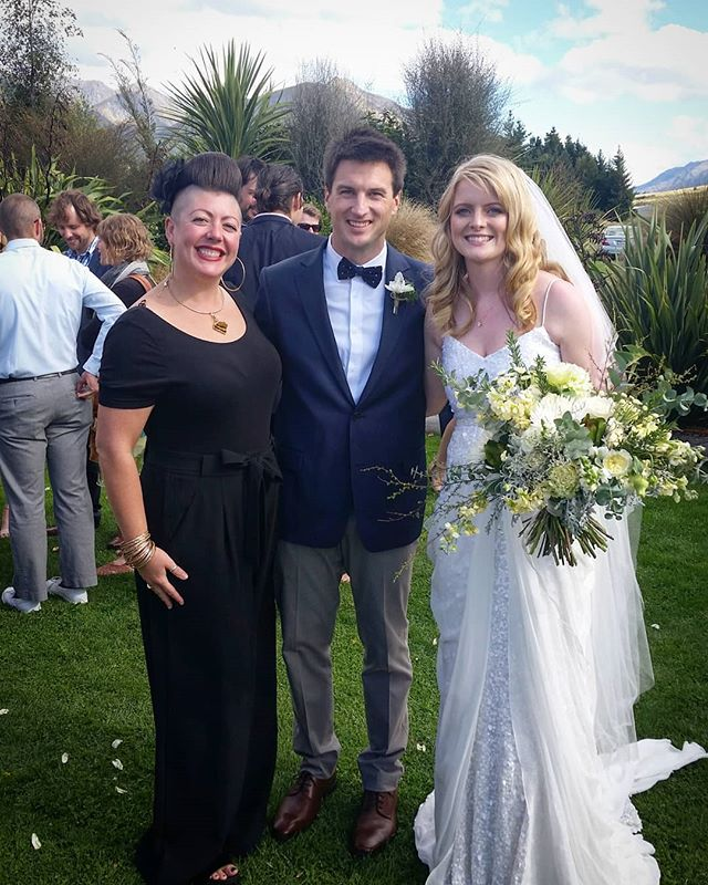 The fabulous and gorgeous *BECCA and BURT* @glendhustation a little over a week ago.  Love love love this couple 😘😘😘 . . . . . #happilyeverafterinwanaka #sayidoinwanaka #celebrantemily #wanakawedding #wanaka #wanakaweddingcelebrant #celebrantwanaka #wanakacelebrant #lovemyjob
