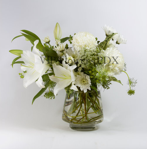 White angel vip flowers portland florist online flower delivery white angel mightylinksfo