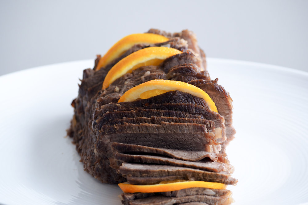 Orange Marinated Beef Recipe