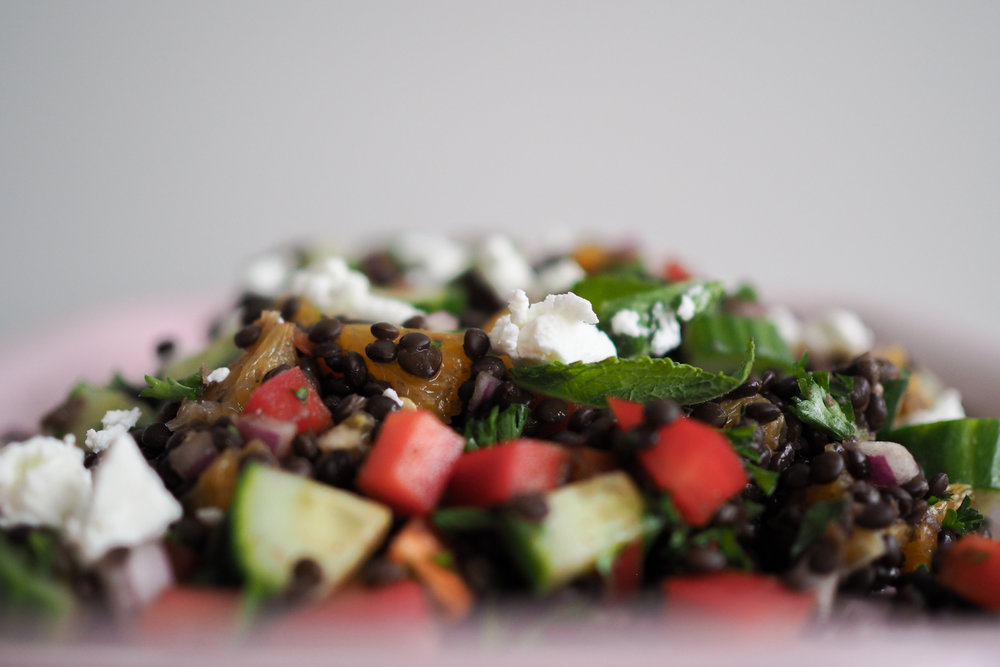 Summer Lentil Salad Recipe