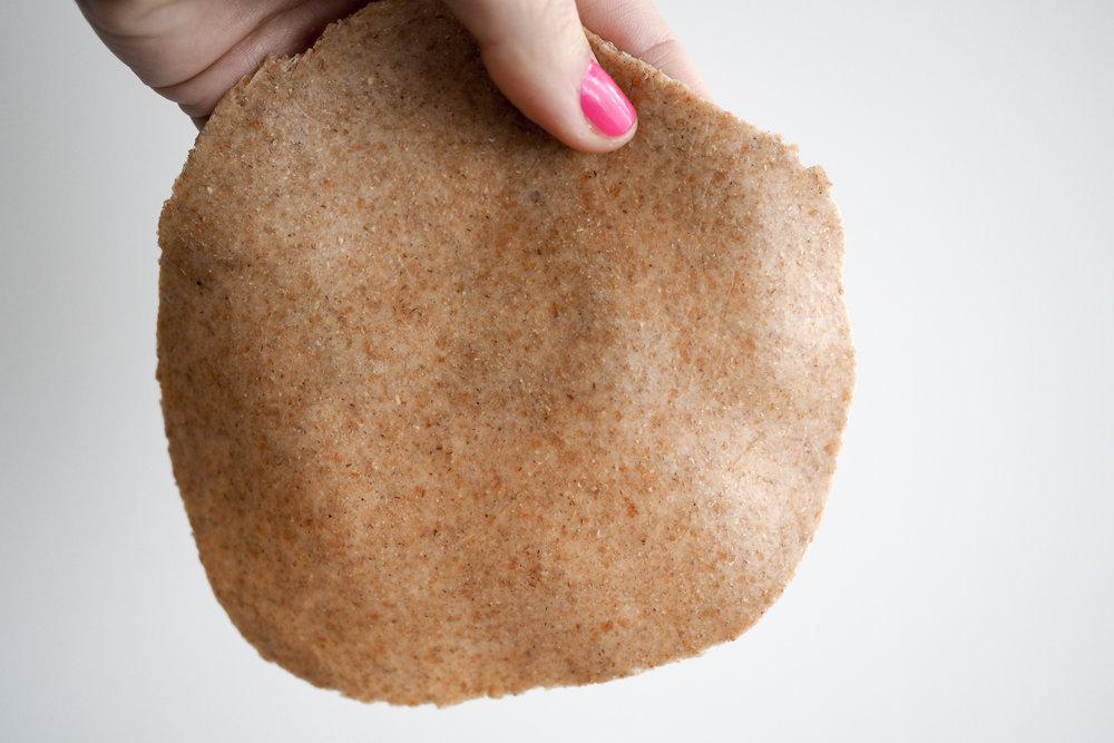 Chapati Flattened