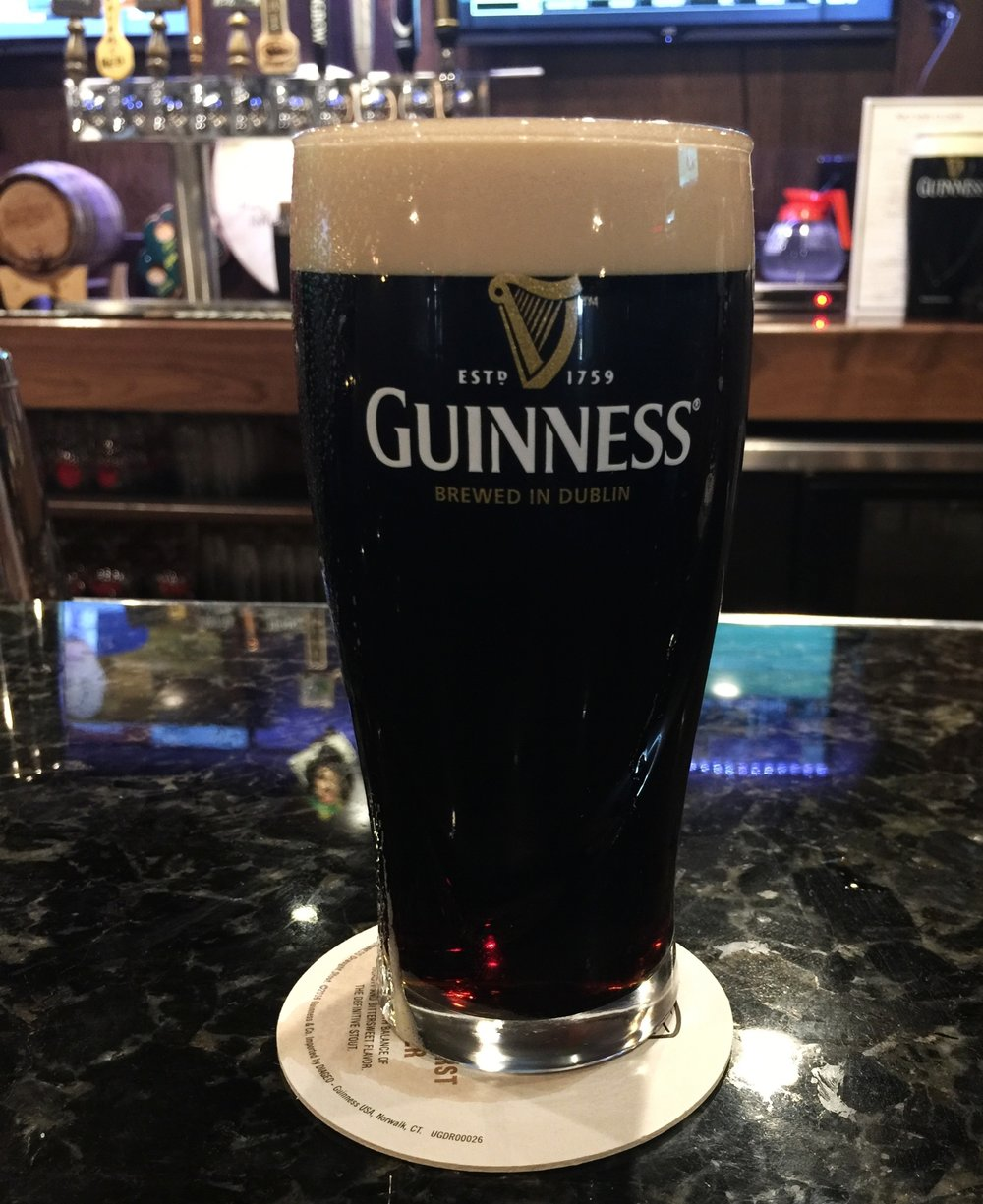 The perfec Guiness pour!