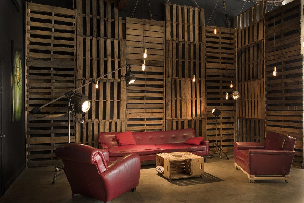 Studio B Pallet Wall