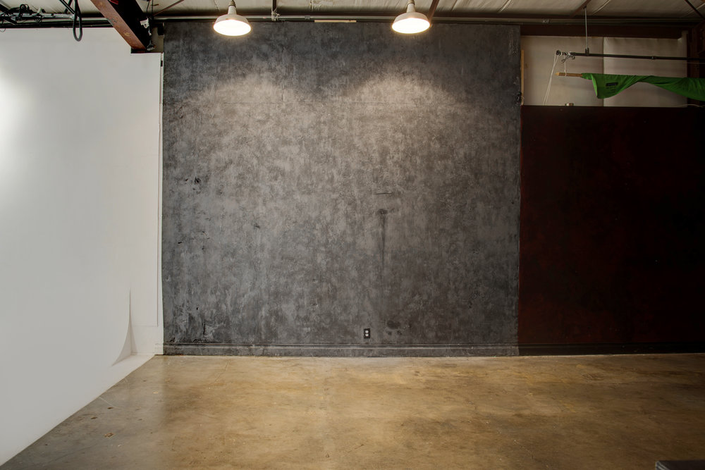 Studio B Cement Wall