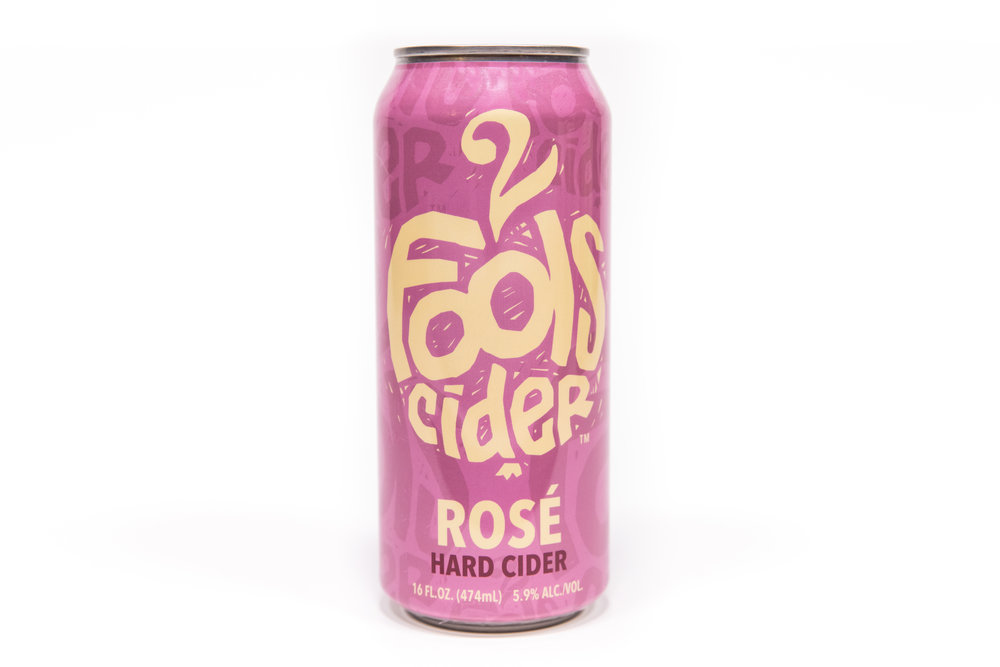 Rosé Hard Cider - Fruit style cider made in the tradition of the English with a slight sweetness, well balanced with a hint of citrus, apple, and blueberry.