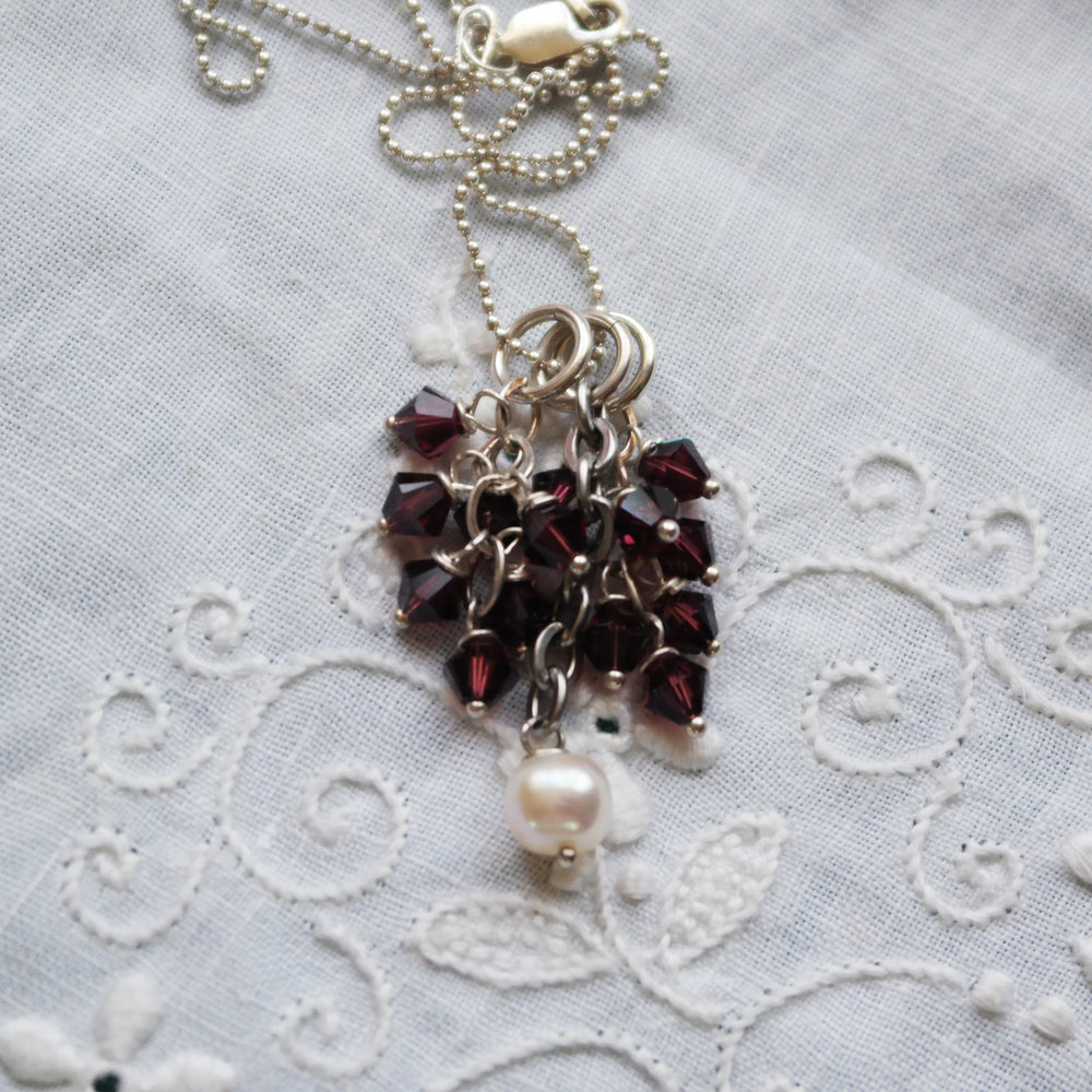I Do Pendant Set in Burgundy.jpg