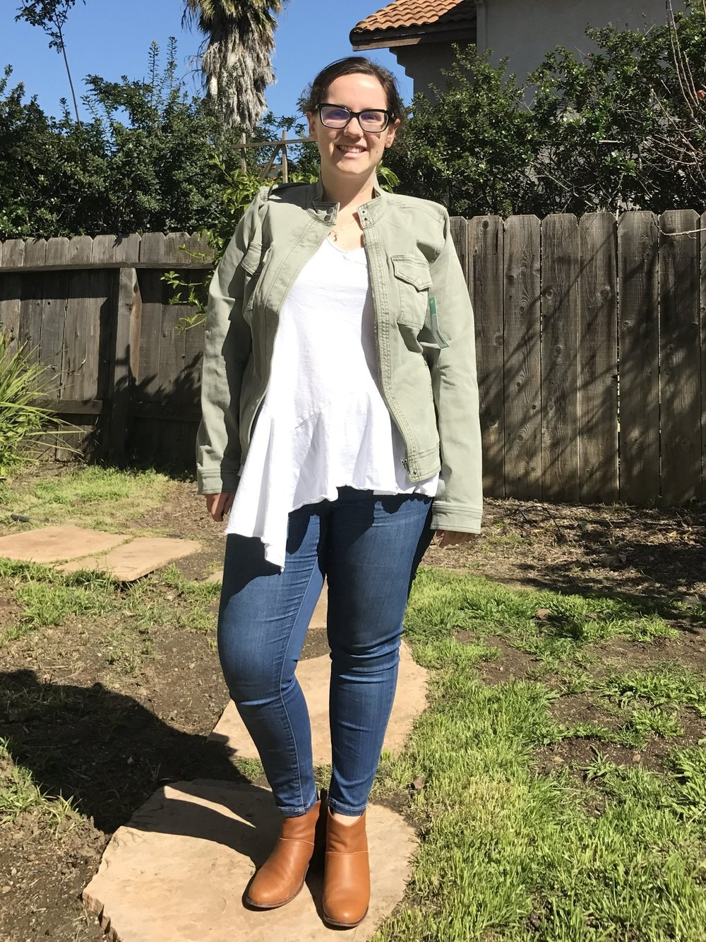 Liverpool Harper Denim Jacket - RETURNED (It's just too big in the shoulders!)