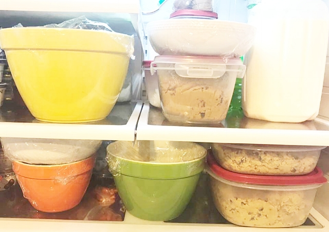 All recipes were prepped at the same time, using the same ingredients the night before the Saturday bake off.