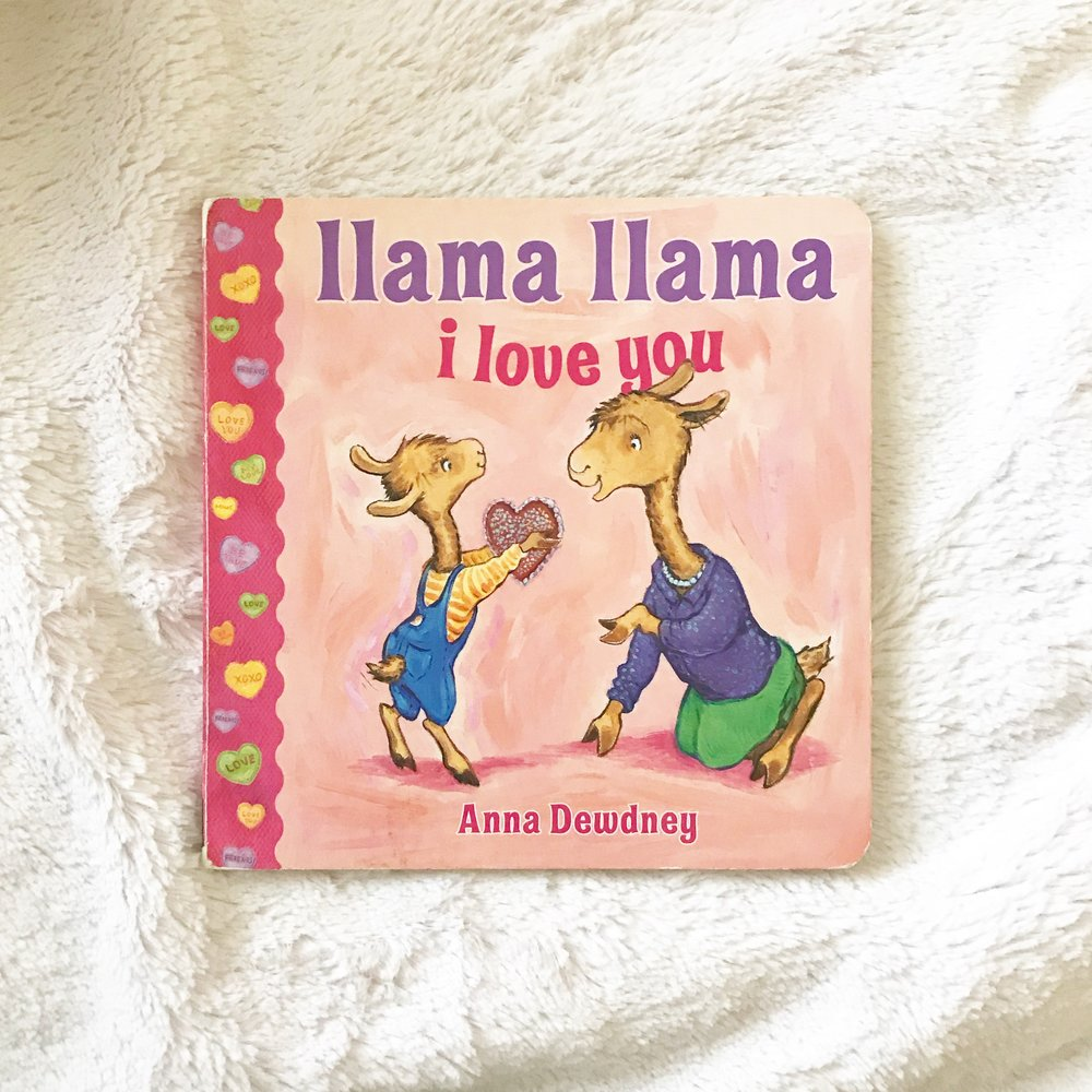 llama llama i love you   True to llama form (have you heard their is now a netflix series for these?!) rhyming fun and a really easy read.