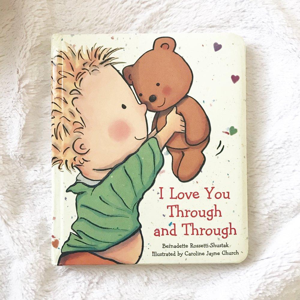 I love you through & through