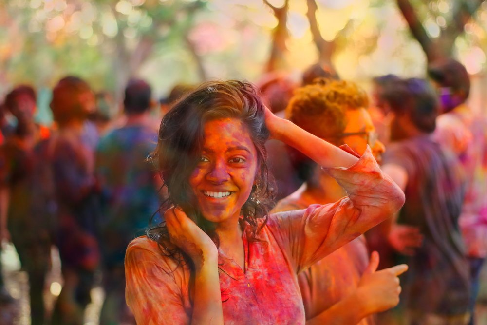 """March 20   Celebrate Holi or the """"Festival of Colours"""" with India. The Holi festival commemorates the victory of good over evil."""
