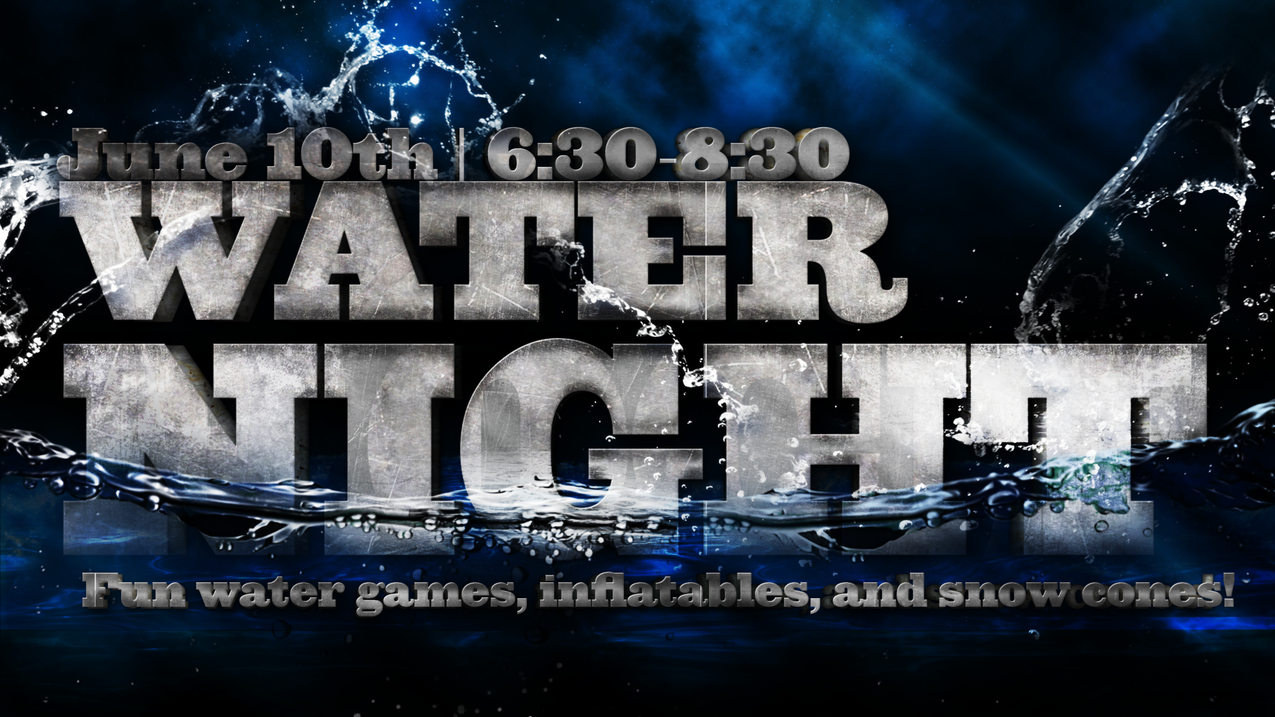 Water Night 2015