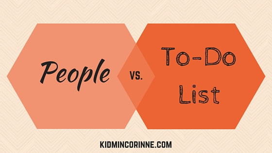 People vs. To-Do List