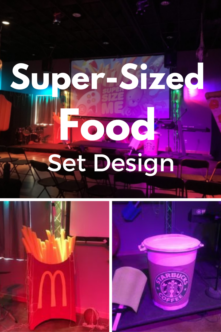 Super-Sized food set design (P)