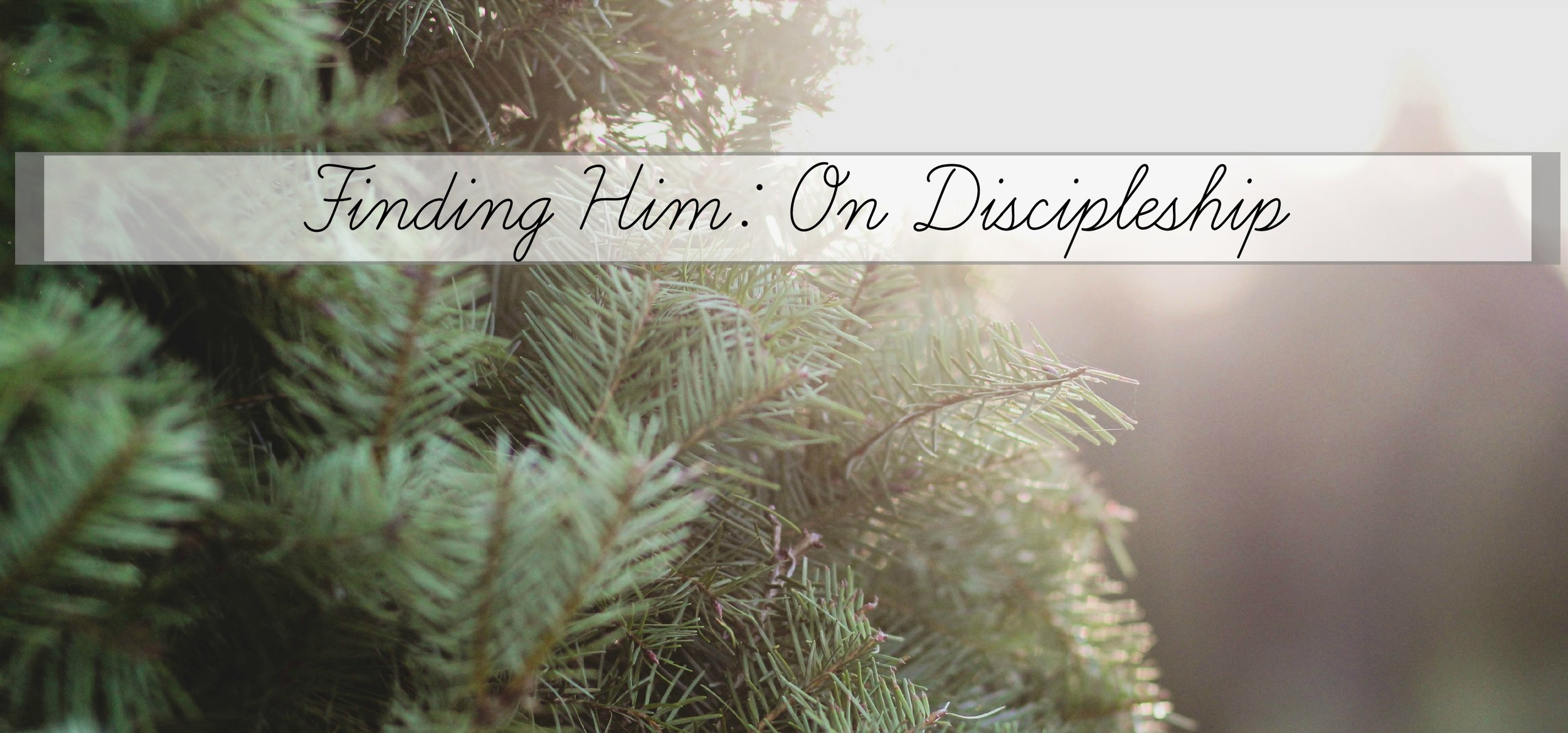 on discipleship