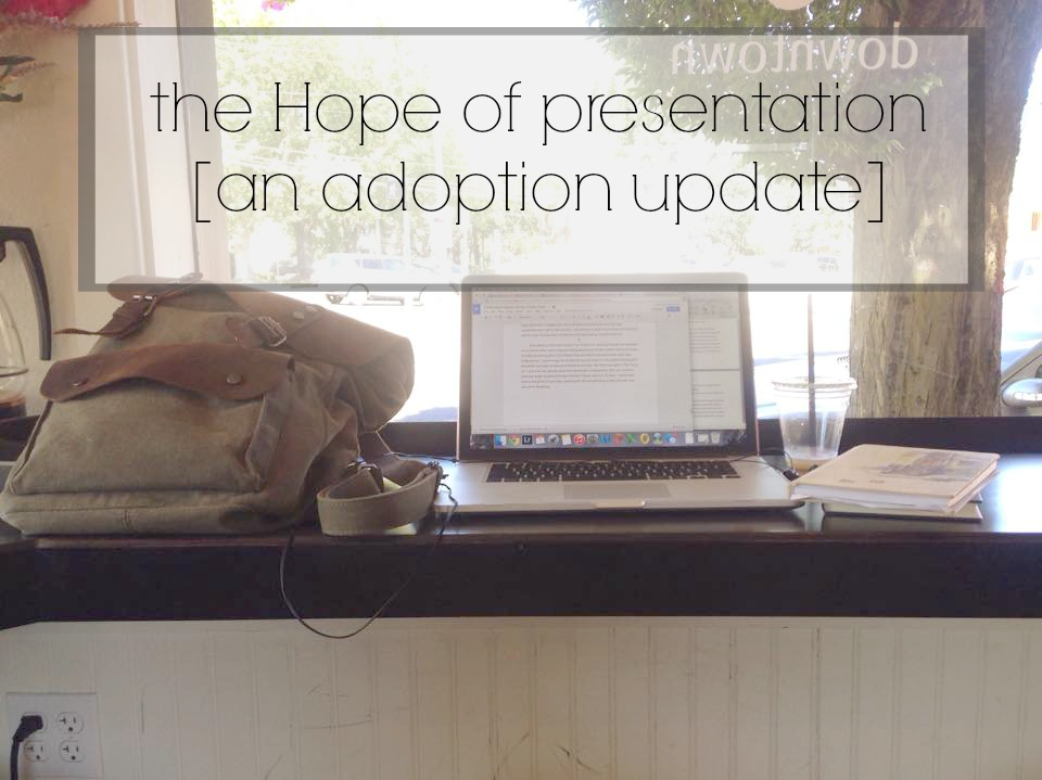 presentation hope, adoption