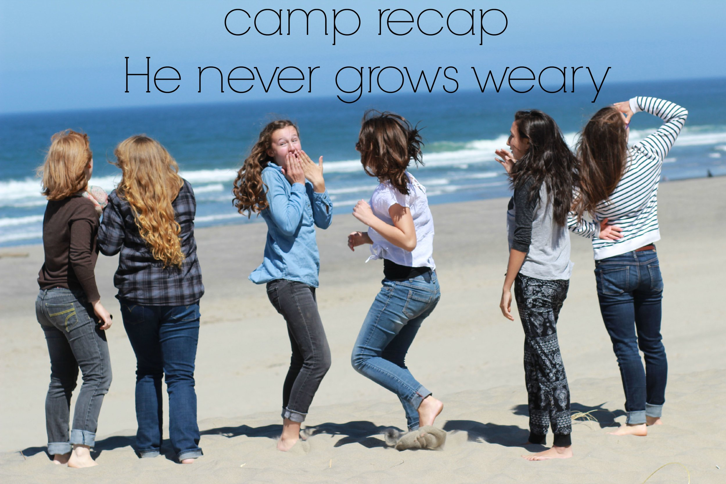 camp recap