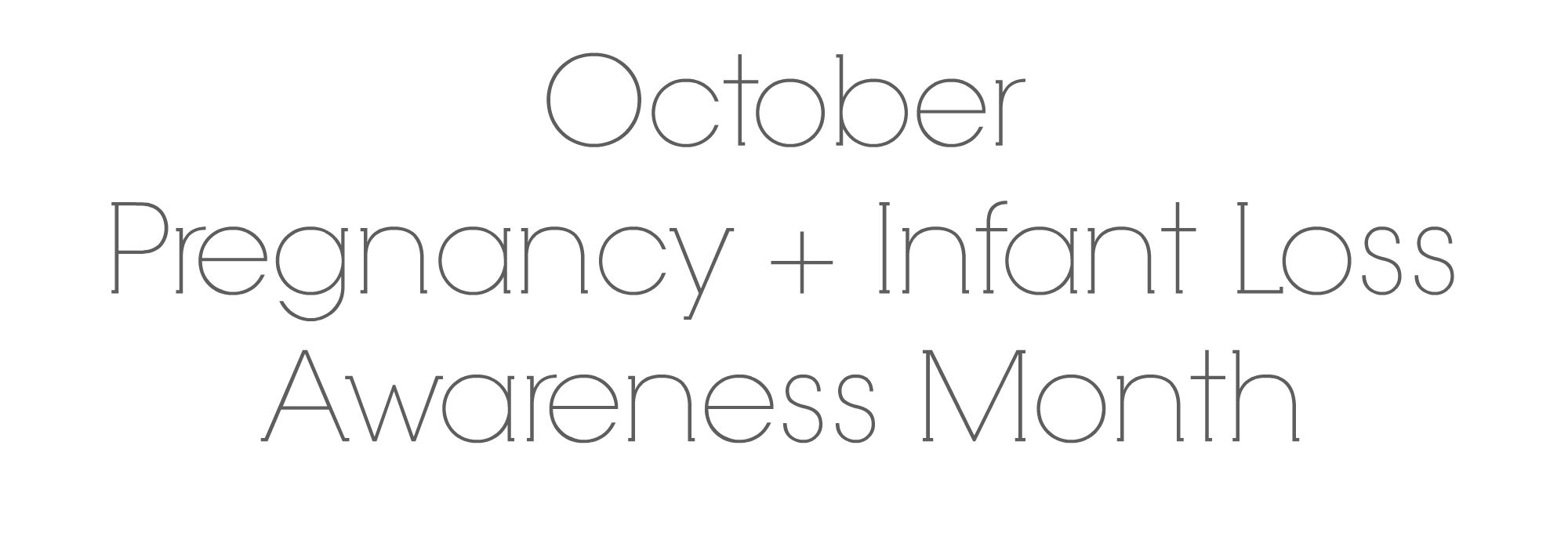october pregnancy infant loss awareness