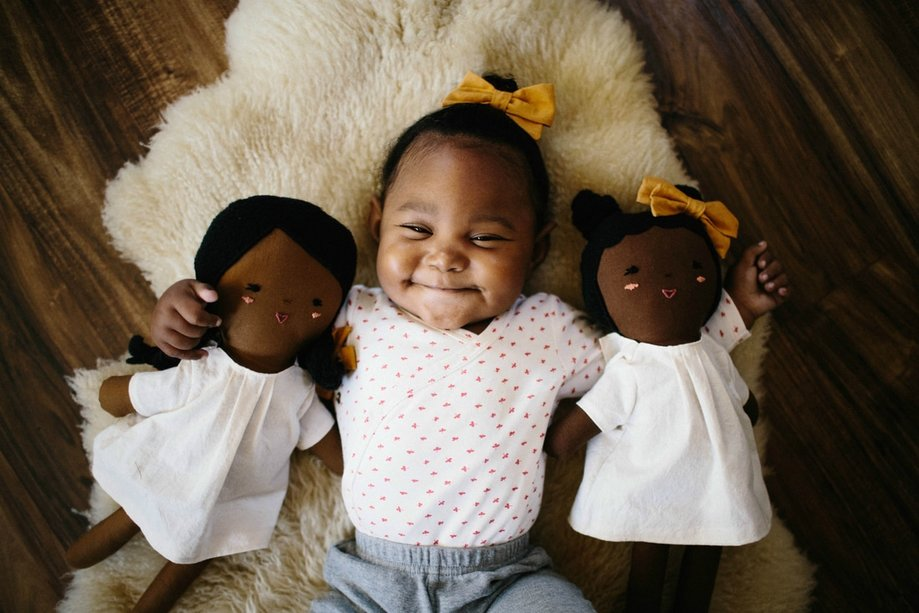 WILDFLOWER LIBERTY LEAGUE [heirloom dolls to promote diversity]