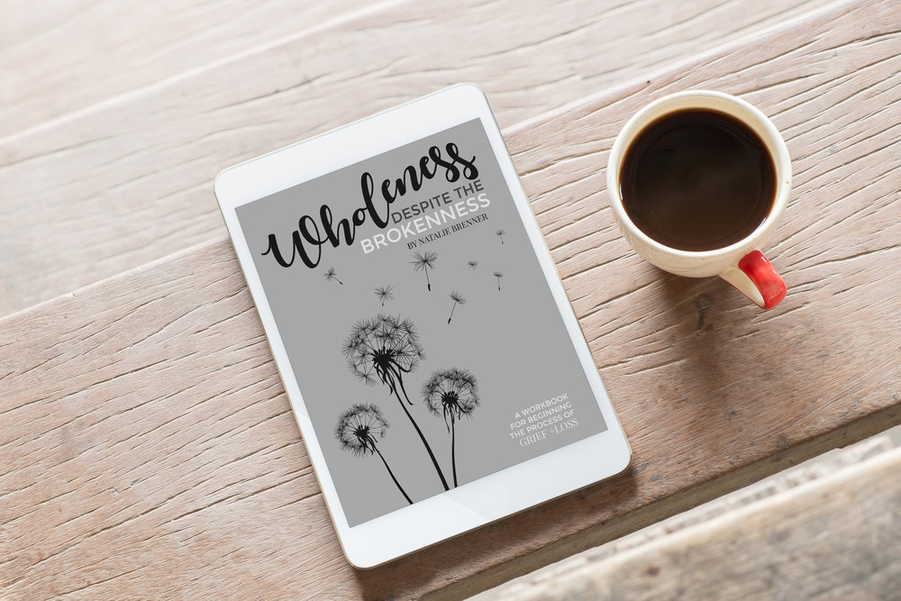 Wholeness Despite the Brokenness — download a free grief guide