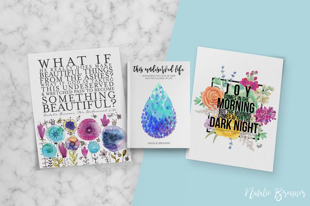 Prints + cover design created by Manda Julaine Designs