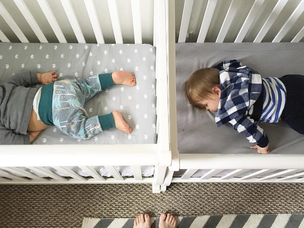 mini cribs, squishy babies, virtual twins