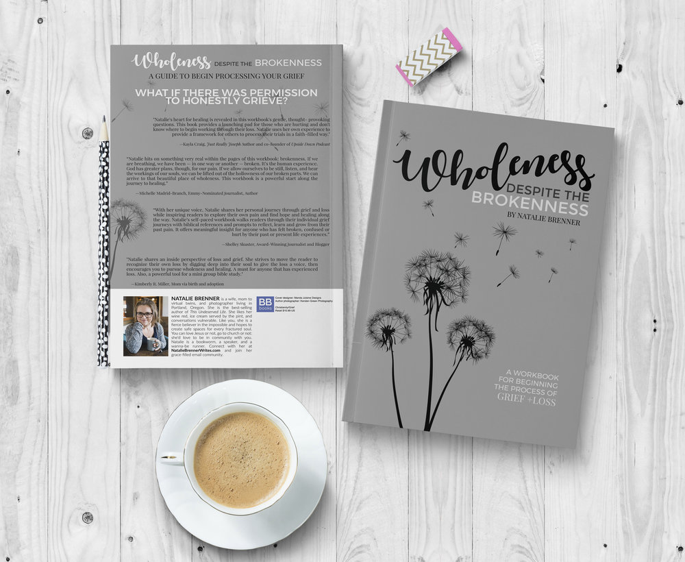 Wholeness Despite the Brokenness   — paperback workbook on Amazon
