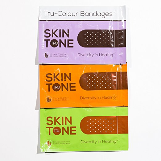 tru color band aids for dark skin