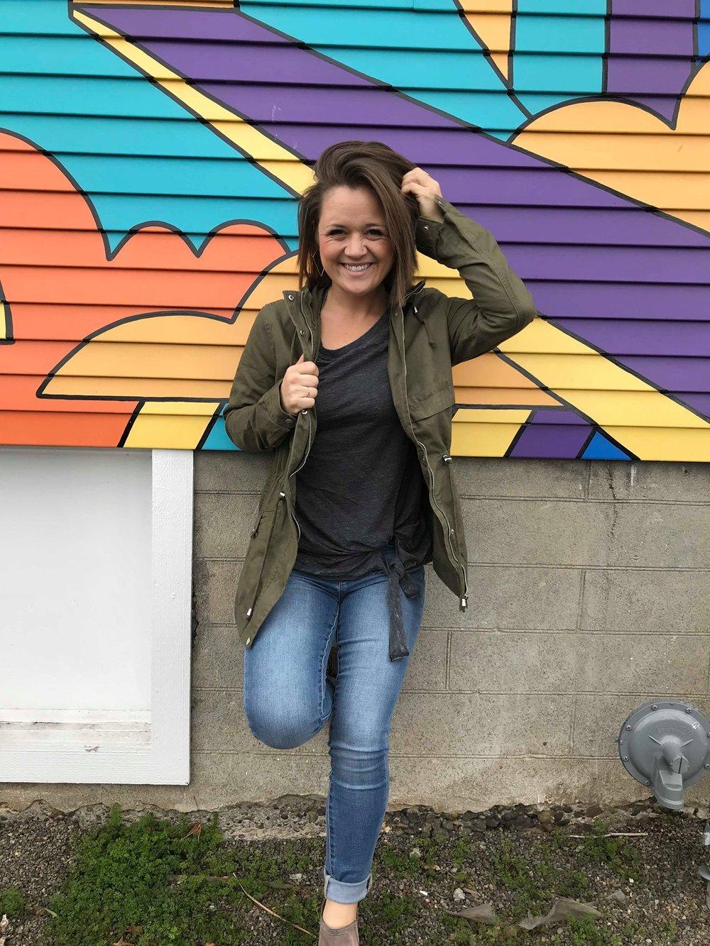 natalie brenner, portland oregon, bright wall