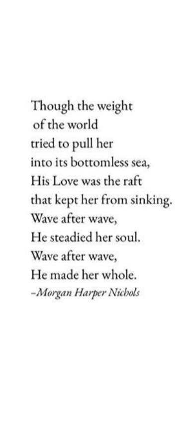 morgan harper nichols quote about grief and waves