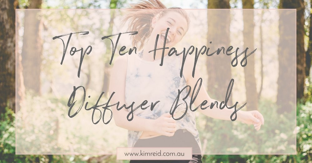Happiness DIffuser Blends