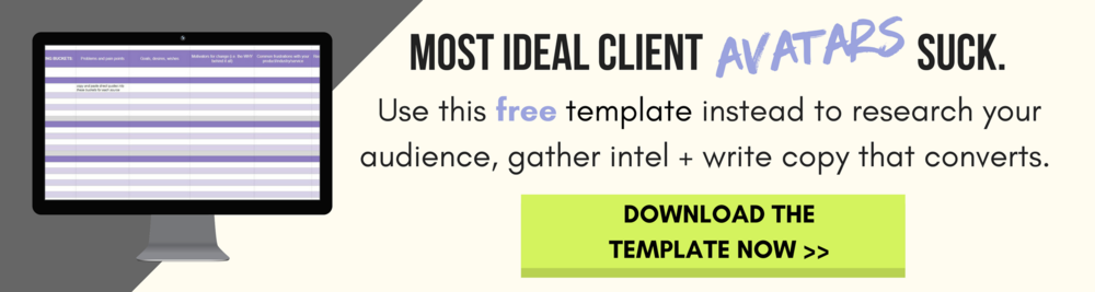 Throw out Your Ideal Client Avatar (and Use This Instead) — The