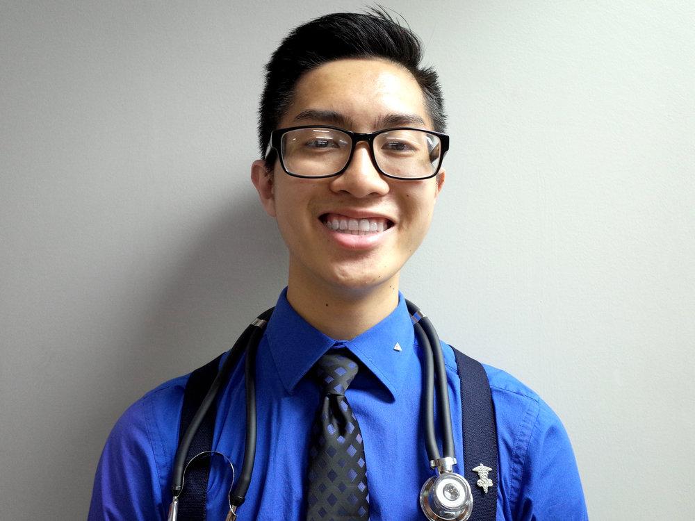 Anthony Nguyen   Major: Biological Sciences Career Goal: Pediatrician