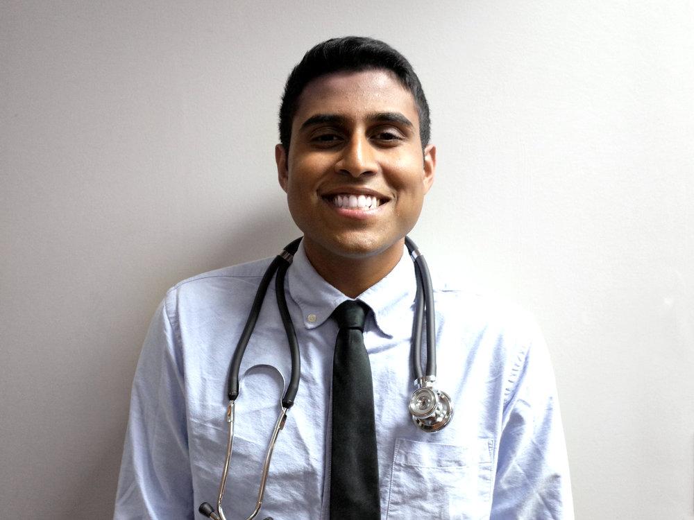 Siddharth Selvakumar   Major: Neurobiology, Physiology, and Behavior Career Goal: Emergency Physician