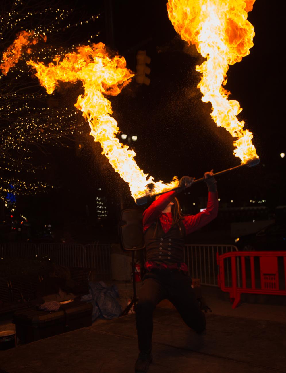 Shadowe sfe fire dancer detroit michigan