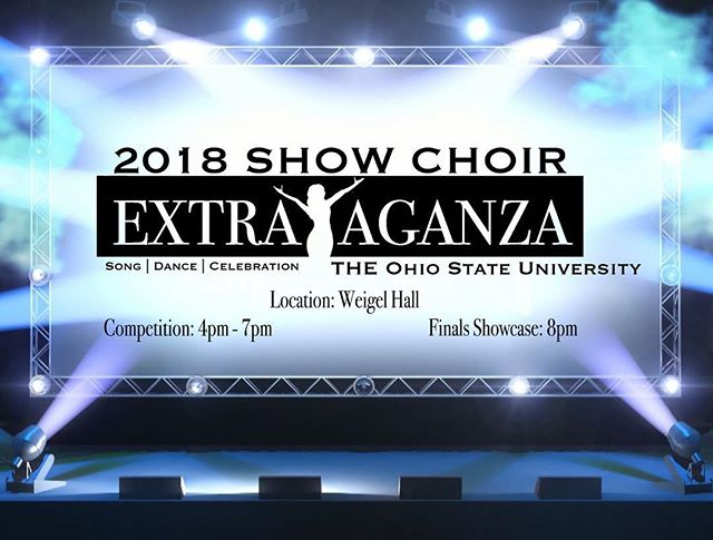 Tomorrow!! Over 250 performers from Ohio to Illinois will be pouring their hearts out on the stage as they compete for the gold!
