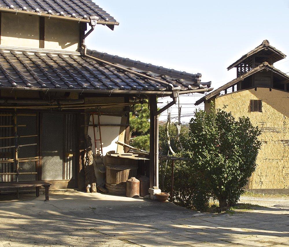 An outbuilding at Nishino Farmhouse Restaurant.