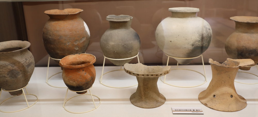 Clay pots like these were used for centuries to make sake in small batches.