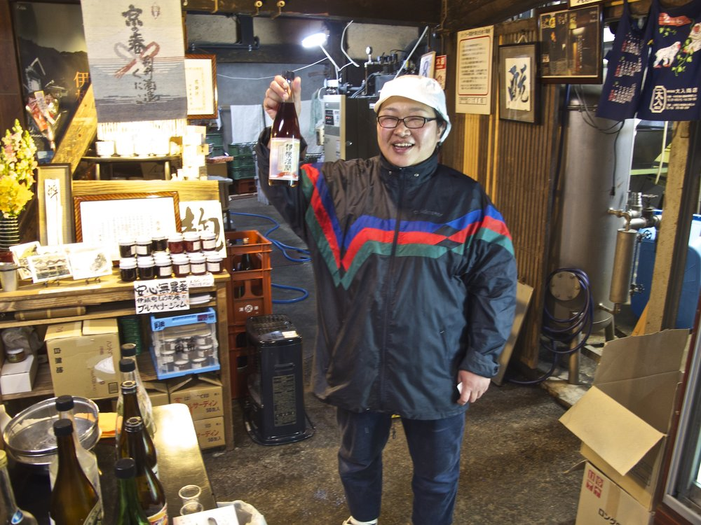 Kuniko Mukai is one of only about 20 women master brewers,  toji , in Japan.
