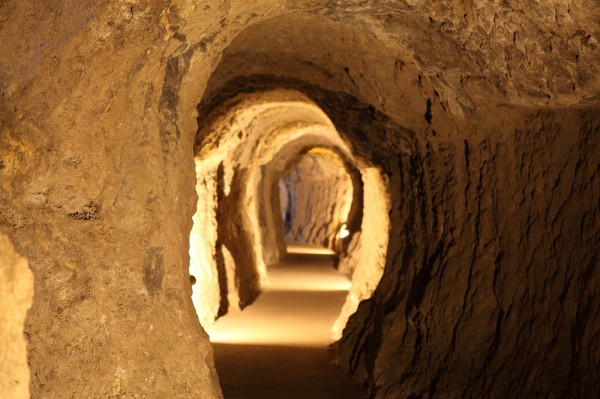 Two of the approximately 600 original silver mine tunnels are open to the public.