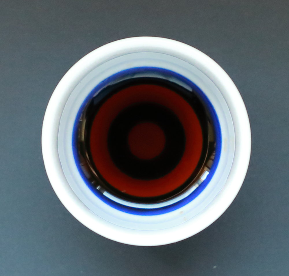 """The classic rich red color of Tanakaya's traditionally-made """"Premium"""" soy sauce is lighter and glossier than other artisanal soy sauces because of its delicacy and sweetness."""